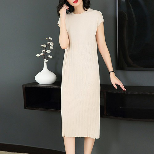 Đầm suông nữ dệt kim 1D3125