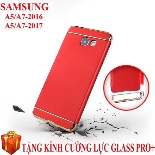 Ốp lưng 3 mảnh Galaxy A5-2016, A7-2016, A5-2017, A7-2017 cao cấp