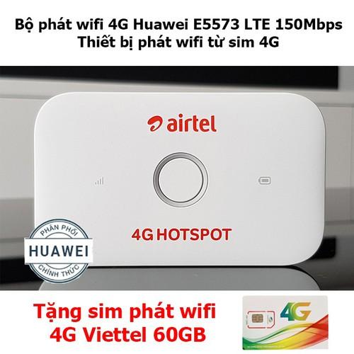 Bộ phát wifi 4G Huawei E5573 LTE 150Mbps,Thiết bị phát wifi từ sim 4G - 10500878 , 9925987 , 15_9925987 , 850000 , Bo-phat-wifi-4G-Huawei-E5573-LTE-150MbpsThiet-bi-phat-wifi-tu-sim-4G-15_9925987 , sendo.vn , Bộ phát wifi 4G Huawei E5573 LTE 150Mbps,Thiết bị phát wifi từ sim 4G