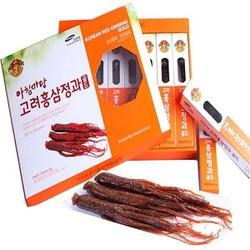 Hồng sâm tẩm mật ong nguyên củ 6 năm Korean Red Gingseng Gold