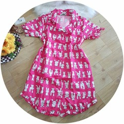 Đầm ngủ, váy ngủ nữ dễ thương hình thỏ