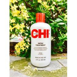 Dầu xả chăm sóc tóc khô Chi Infra 355ml