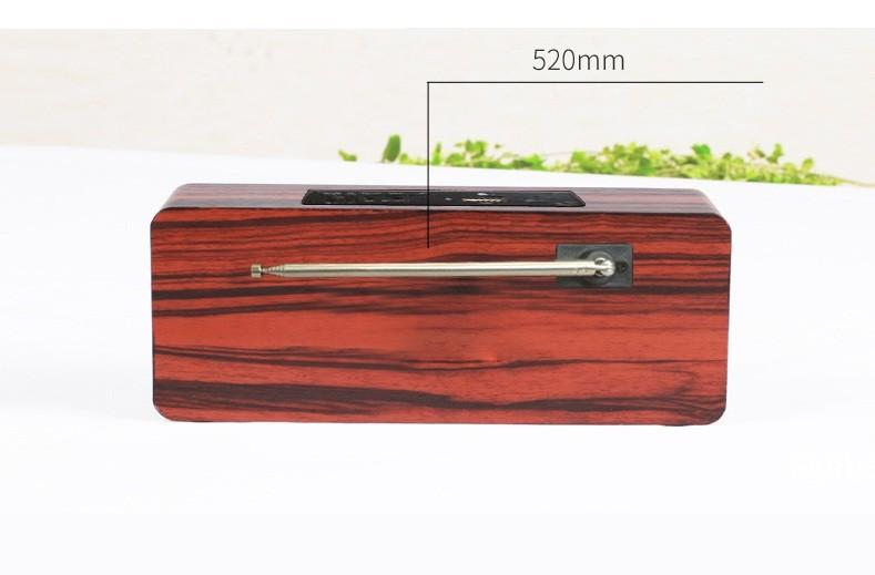 Loa gỗ Super BassHIFI Stereo speakerPKCB-03 4
