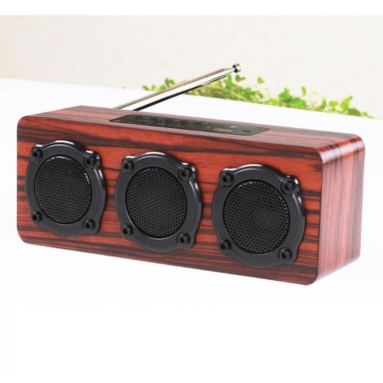 Loa gỗ Super BassHIFI Stereo speakerPKCB-03 1