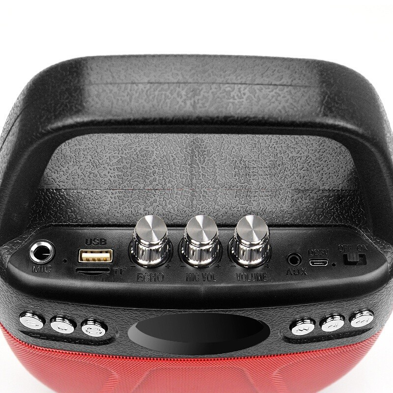 Loa kẹo kéo Bluetooth Echo PKCB-610 cắm Micro thẻ nhớ USB Điện thoại 15