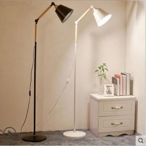Đèn cây nội thất thiết kế mới DC003 - Tặng bóng LED ASIA 5W BH 2 NĂM