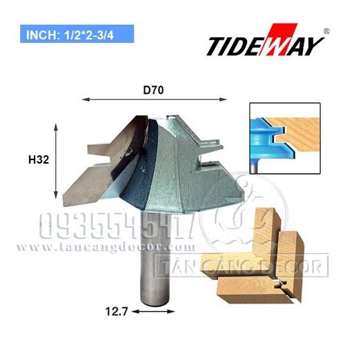 Mũi phay Tideway ghép góc 90 độ dành cho ván trên 30 mm - 5887647 , 9942914 , 15_9942914 , 385000 , Mui-phay-Tideway-ghep-goc-90-do-danh-cho-van-tren-30-mm-15_9942914 , sendo.vn , Mũi phay Tideway ghép góc 90 độ dành cho ván trên 30 mm