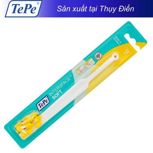 Bàn chải kẽ răng mềm Tepe Interspace Soft -12 đầu tip