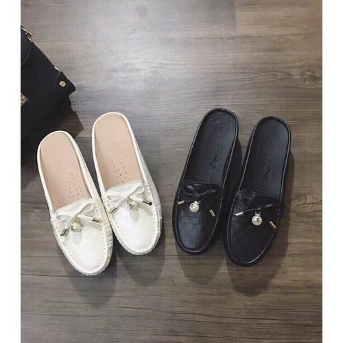 Giày lười nữ dạng dép thông thoáng - 5882533 , 9935953 , 15_9935953 , 195000 , Giay-luoi-nu-dang-dep-thong-thoang-15_9935953 , sendo.vn , Giày lười nữ dạng dép thông thoáng