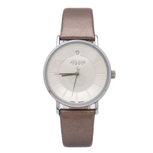 Đồng hồ nữ julius hàn quốc dây da ja-921 ju1195