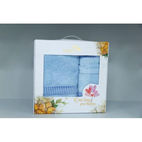 Bộ hộp giấy quà tặng Mollis gồm 1 khăn tắm và 2 khăn mặt P001 - 5882386 , 9935396 , 15_9935396 , 250000 , Bo-hop-giay-qua-tang-Mollis-gom-1-khan-tam-va-2-khan-mat-P001-15_9935396 , sendo.vn , Bộ hộp giấy quà tặng Mollis gồm 1 khăn tắm và 2 khăn mặt P001