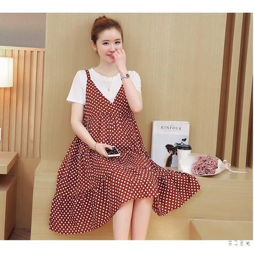 Đầm bầu  siêu dễ thương 1D2012