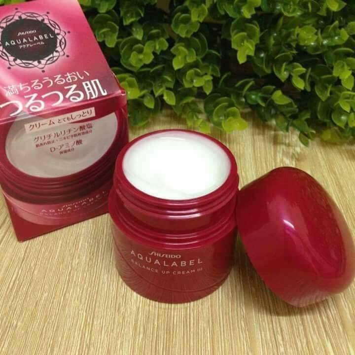 Kem Dưỡng Shiseido Aqualabel Balance Up Cream III (ĐỎ)