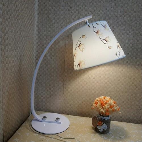 Đèn NGỦ ĐỂ BÀN cao cấp DB9002 CHAO HOA NGỌC LAN - Tặng kèm bóng LED