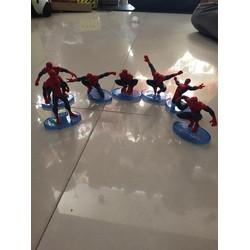 Bộ sưu tập siêu nhân nhện gồm 7 con