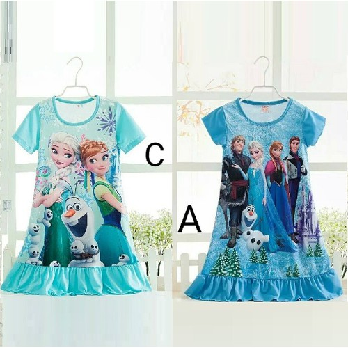 Đầm Công Chúa Băng Giá Elsa
