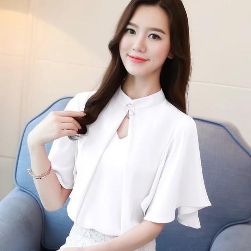 áo kiểu nữ cao cấp cổ kèm phụ kiện tay loe sang trọng - 5028209 , 9957394 , 15_9957394 , 170000 , ao-kieu-nu-cao-cap-co-kem-phu-kien-tay-loe-sang-trong-15_9957394 , sendo.vn , áo kiểu nữ cao cấp cổ kèm phụ kiện tay loe sang trọng