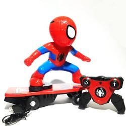 Đồ chơi người nhện trượt ván có điều khiển