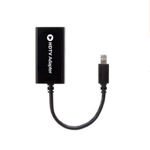 Cáp MHL chuyển Micro USB to HDMI - Đen