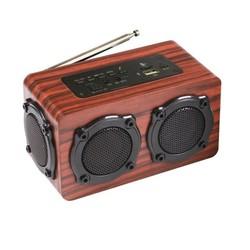 Loa gỗ Bluetooth Super Bass HIFI Stereo speaker PKCB 02 F45