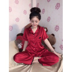 đồ bộ dài mặc nhà dạng pijama