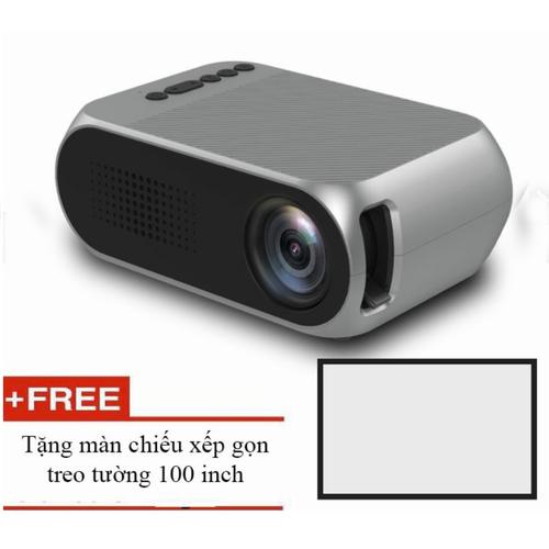 Máy chiếu phim mini YG320 màn ảnh rộng 200inch + màn chiếu 100inch - 5890712 , 9948372 , 15_9948372 , 1489000 , May-chieu-phim-mini-YG320-man-anh-rong-200inch-man-chieu-100inch-15_9948372 , sendo.vn , Máy chiếu phim mini YG320 màn ảnh rộng 200inch + màn chiếu 100inch