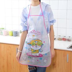 Tạp dề nấu ăn Doremon, Kitty, Mickey dễ thương