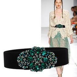 Thắt lưng đính đá thời trang - Cao cấp dành cho nữ