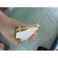 Ốp viền đính đá che camera cho iPhone 4 4s