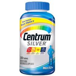 Vitamin tổng hợp Centrum Silver Men dành cho nam trên 50 tuổi hộp 250viên Mỹ bồ sung vitamin, khoáng chất tăng cường sức đề kháng