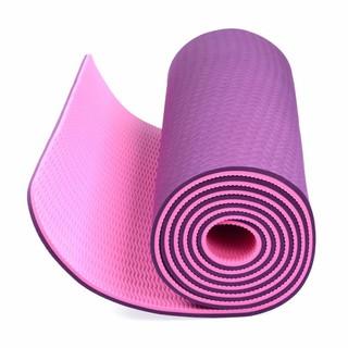 Thảm tập yoga TPE 2 lớp 6mm cao cấp - thảm tập thumbnail