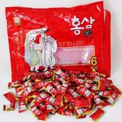Kẹo hồng sâm Hàn Quốc Ông Già Bà Lão 800G Bộ 4 bịch