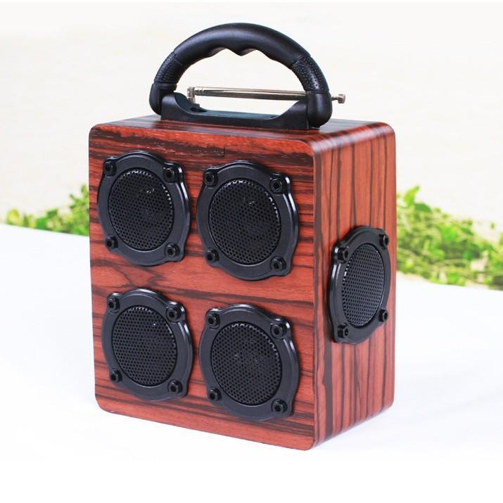 Loa gỗ Super Bass HIFI Stereo speaker PKCB-05 1