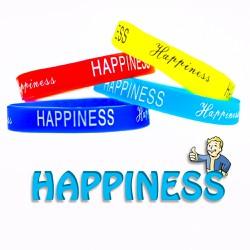 Vòng tay cao su HAPPINESS ý nghĩa