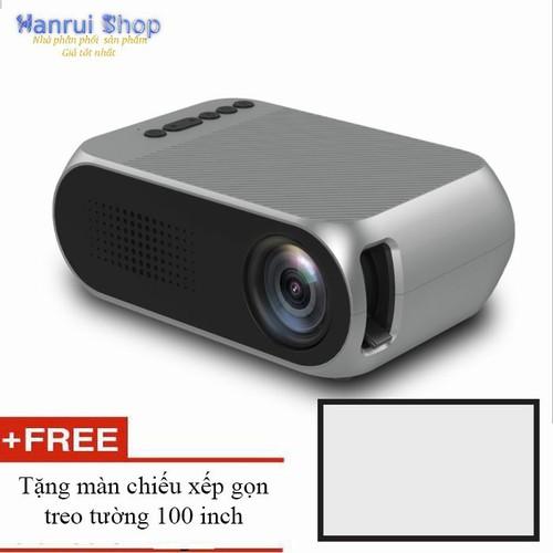 Worldmart máy chiếu mini yg320 led  nhỏ gọn 1080p tặng màn chiếu 100 inch - 18045709 , 22654397 , 15_22654397 , 1498000 , Worldmart-may-chieu-mini-yg320-led-nho-gon-1080p-tang-man-chieu-100-inch-15_22654397 , sendo.vn , Worldmart máy chiếu mini yg320 led  nhỏ gọn 1080p tặng màn chiếu 100 inch