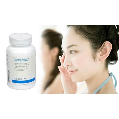 Nửa liệu trình 60 Viên trị Mụn Murad Pure Skin Clarifying Dietary Mỹ