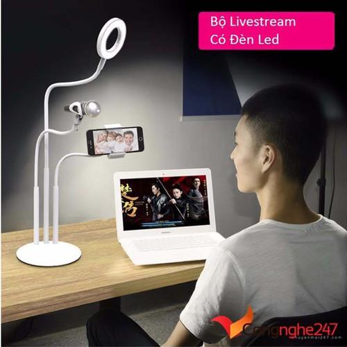 -freeship- Bộ Giá đỡ Livestream có đèn Led siêu đẹp