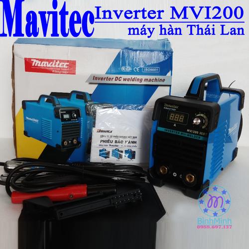 máy hàn mavitec MVI 200 - may han inverter IGBT TháiLan