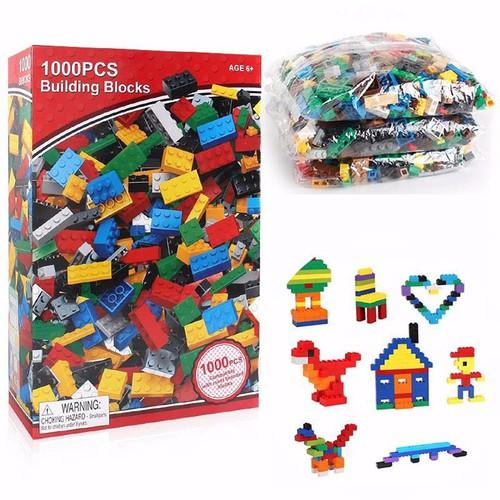 Bộ xếp hình Le go 1000 chi tiết cho bé-xếp hình lego-bộ xếp hình đồ chơi