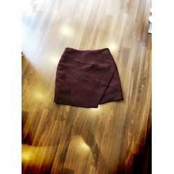 chân váy vạt xéo Hàn quốc
