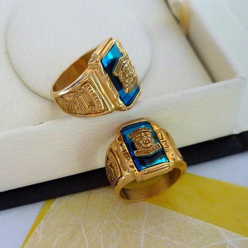 Nhẫn mặt xanh dương NZ617