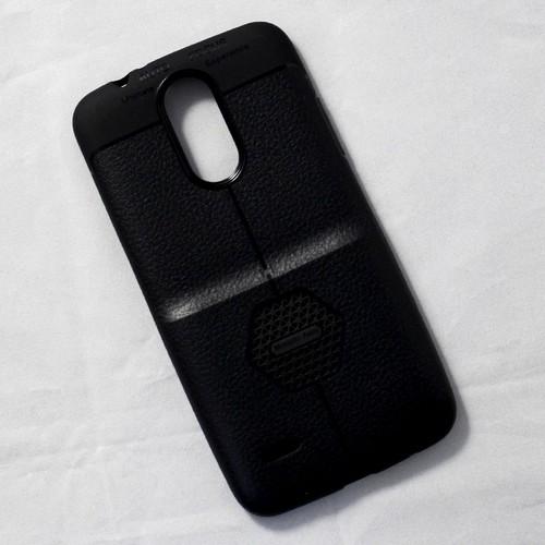 Ốp dẻo LG K7i lưng sần đen