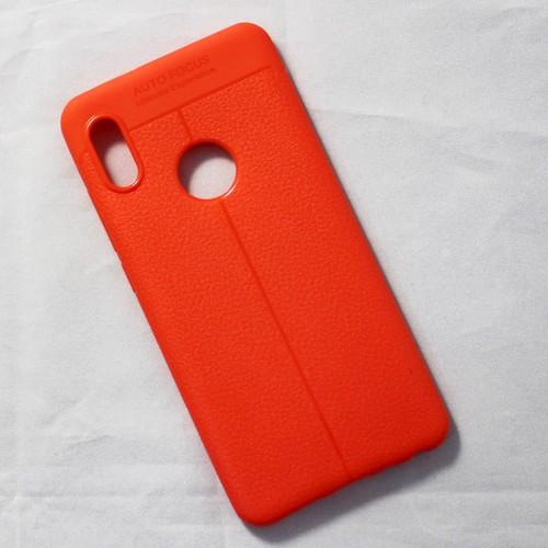 Ốp dẻo Xiaomi Redmi Note 5 Pro lưng sần cam