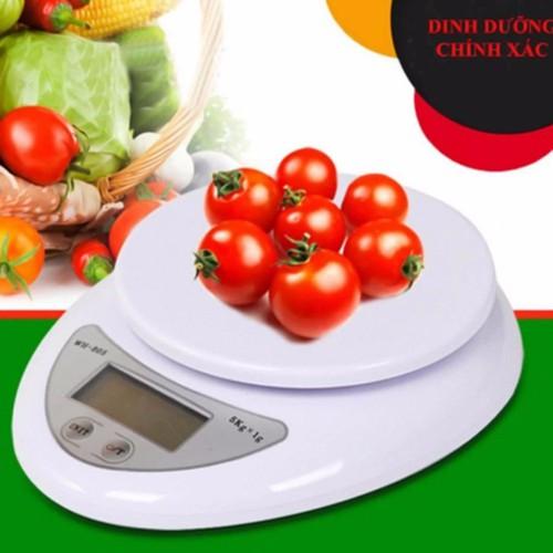 Cân điện tử nhà bếp mini 5kg- cân mini - cân thực phẩm