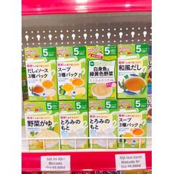 Bột ăn dặm Wakodo cho bé 5 tháng Nhật Bản
