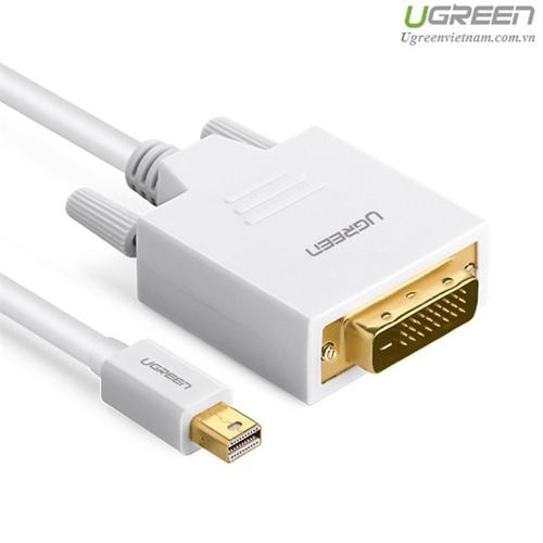 Cáp chuyển đổi Mini Displayport to DVI dài 2M chính hãng Ugreen 10405 - 5665315 , 9573589 , 15_9573589 , 350000 , Cap-chuyen-doi-Mini-Displayport-to-DVI-dai-2M-chinh-hang-Ugreen-10405-15_9573589 , sendo.vn , Cáp chuyển đổi Mini Displayport to DVI dài 2M chính hãng Ugreen 10405