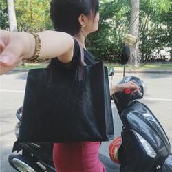 Túi xách da nữ đen thời trang công sở cực sang trọng