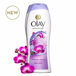 Sữa tắm Olay Fresh OUTLASH Soothing Orchid  Black Currant 700ml