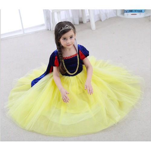 Đầm công chúa Bạch Tuyết cao cấp - 4437947 , 9572128 , 15_9572128 , 390000 , Dam-cong-chua-Bach-Tuyet-cao-cap-15_9572128 , sendo.vn , Đầm công chúa Bạch Tuyết cao cấp