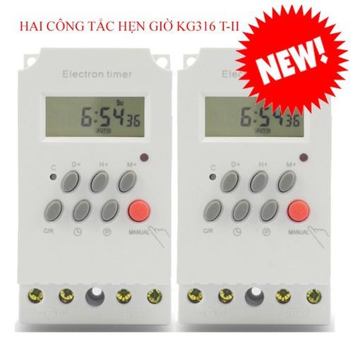 Hai công tắc hẹn giờ KG316 T-II công suất 25A bật tắt thiết bị điện tự động - 5670894 , 9584609 , 15_9584609 , 222000 , Hai-cong-tac-hen-gio-KG316-T-II-cong-suat-25A-bat-tat-thiet-bi-dien-tu-dong-15_9584609 , sendo.vn , Hai công tắc hẹn giờ KG316 T-II công suất 25A bật tắt thiết bị điện tự động
